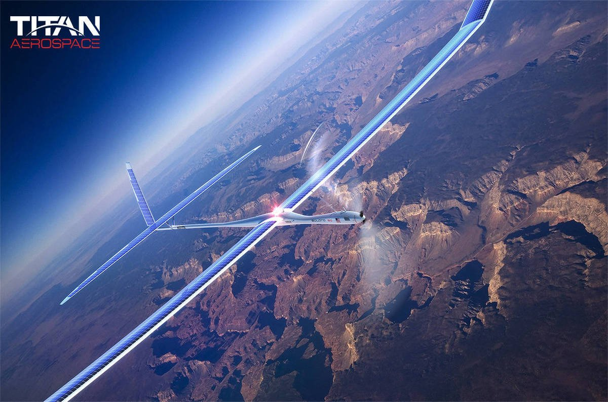 photo image Google sends Titan broadband drones to the unicorns' graveyard