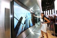 Samsung flexible curved TV