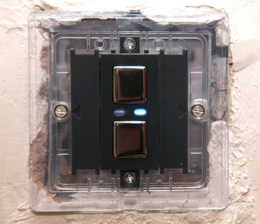 Lightwave RF socket and dimmer