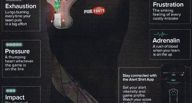 A Fox Footy Alert Shirt