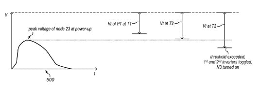 Apple patent illustration from 'Modifying operating parameters of a device based on aging information'