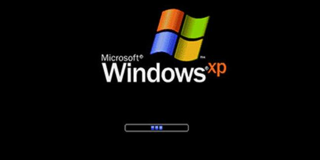 Windows XP boot screen