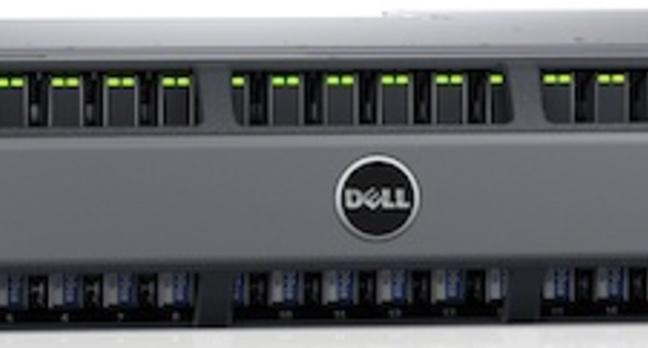 The new Dell SC4020 array