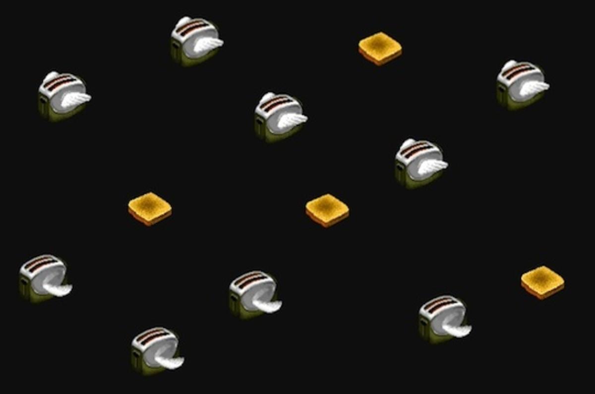 Flying Toaster Screen Savers Return On Github The Register