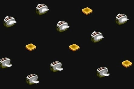 Flying Toaster screen saver rebuilt in CSS