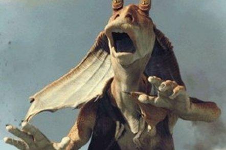 Jar Jar Binks in <i>Star Wars</i>