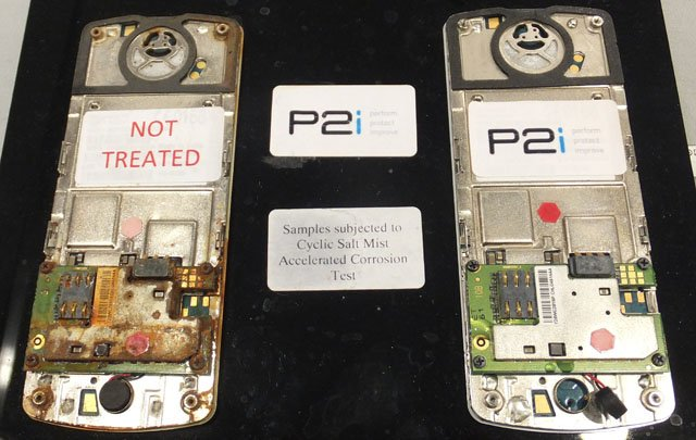 P2i corrosion resistant treatments