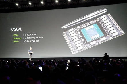 Nvidia CEO Jen-Hsun Huang provides details on next-generation GPU architecture, 'Pascal'