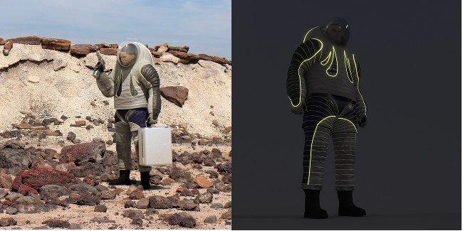 The Trend in Society spacesuit design