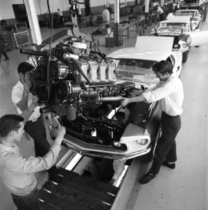 Ford Motor Company assembly line, photo: Ford