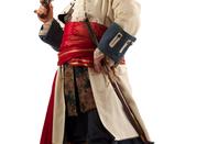Pirate in costume