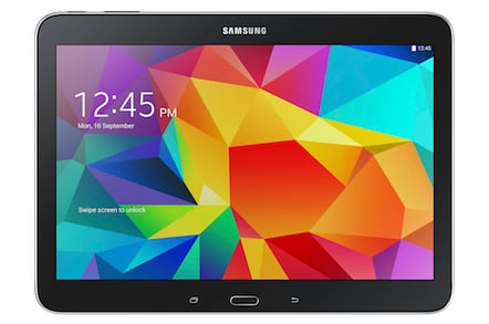 The 10.1 inch Galaxy Tab4