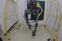 World Cup kicking exoskeleton