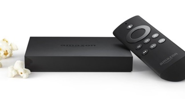 Amazon Fire TV and controller