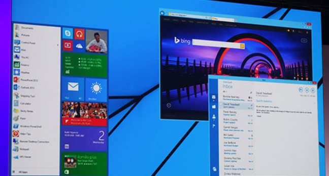 Photo of a future Windows 8.x desktop