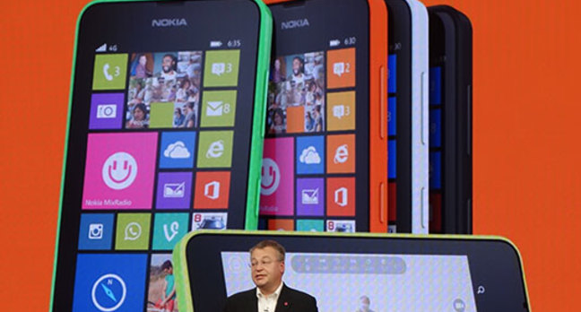 Photo of Stephen Elop at Build 2014