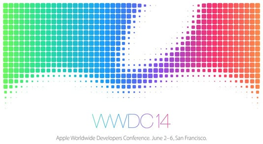 Apple's announcement for its 2014 Worldwide Developers Conference