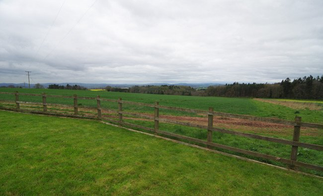 The field behind Dave Akerman's house near Ross-on_wye