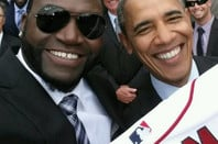 David Ortiz selfie with US President Barack Obama