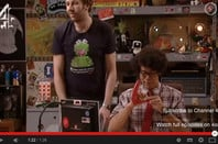 The IT Crowd with highlighted Reg sticker