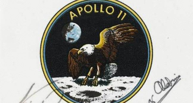 Apollo 11 astronaut patch