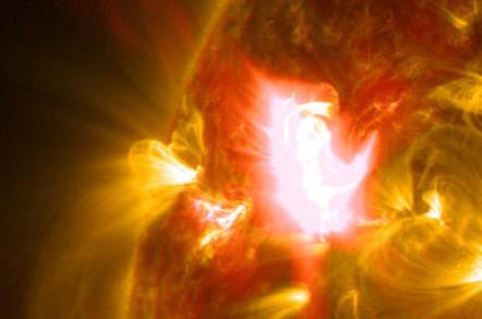 M6.5 solar flare in April 2014
