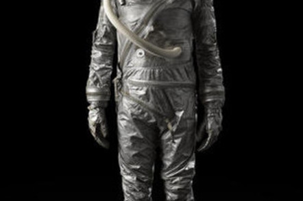 Mercury-era spacesuit
