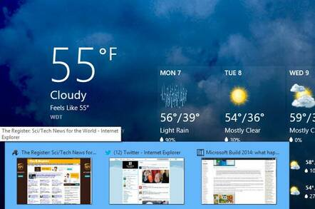 Windows 8.1 Update  Storeapps Taskbar