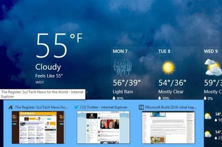 Windows 8.1 Update  Storeapps Taskbar