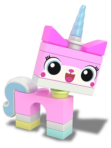 Picture of a pink unicorn kitty thing