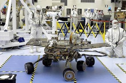 Opportunity in clean room