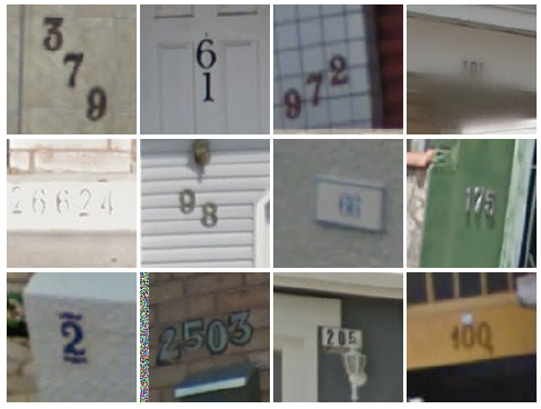 Google's Street View number recognition
