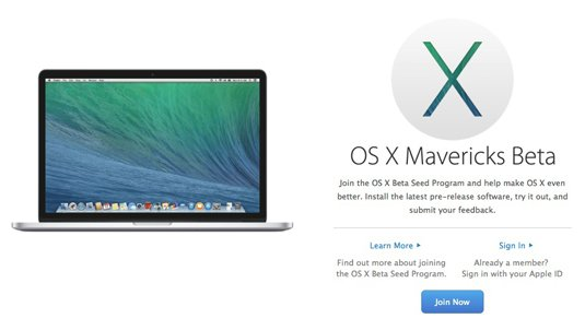 Apple's announcement of the new OS X Beta Seed Program