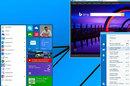 Screenshot of a revamped Windows 8.x Start Menu