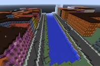 Denmark Minecraft map