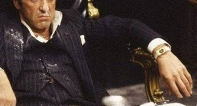 Al Pacino as Scarface