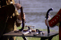 Barry Lyndon duel with Captain Quin