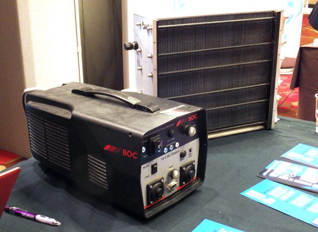 BOC Hymera H2 fuel cell generator