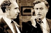 Still from UK political comedy Yes Minister