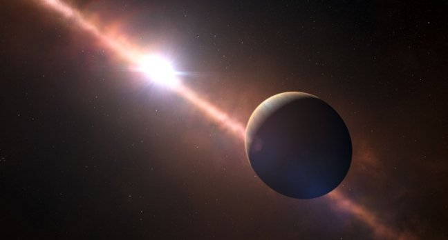 Artist's impression of Beta Pictoris b