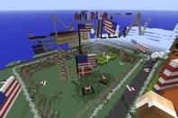 Denmark Minecraft map vandalised