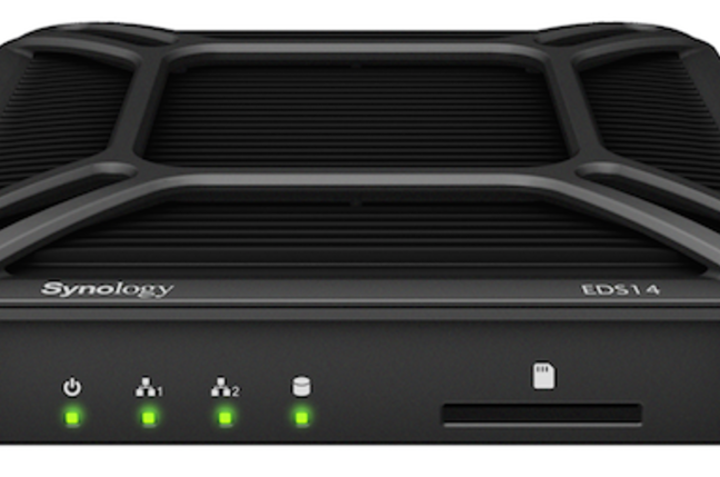 Synology's EDS14 rugged internet of things NAS