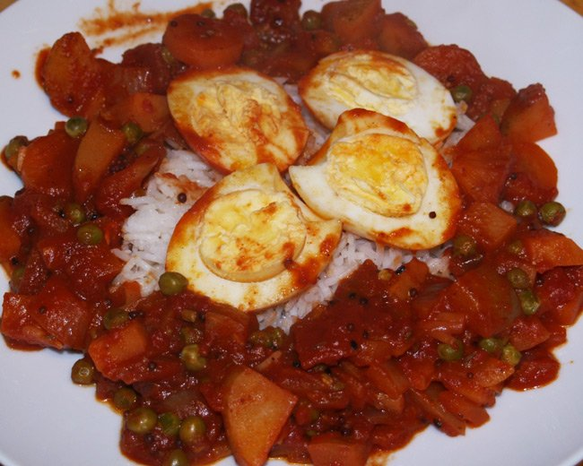 Neil's egg curry