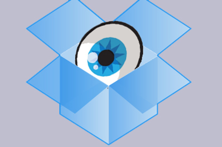 dropbox privacy security eye