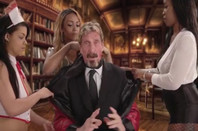 John McAfee with a bunch of horny nurses