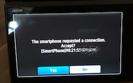 Samsung insecure camera screen grab
