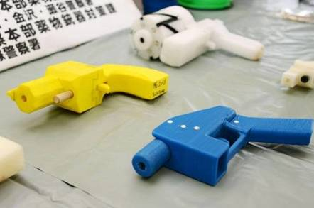 Plastic Japanese gun arsenal