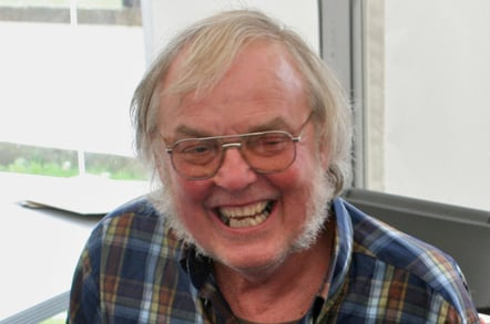 Colin Pillinger by Mike Peel