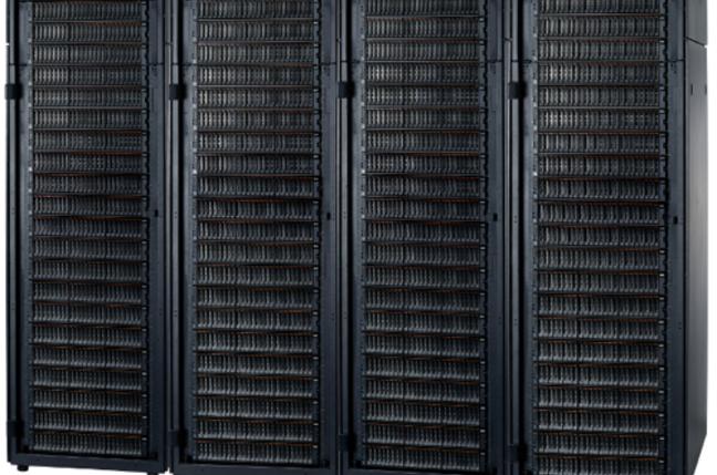 4 racks of V7000 boxes