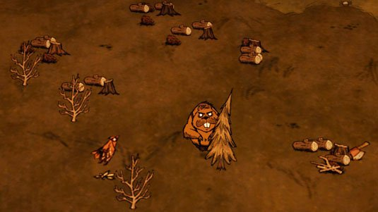 Don't Starve is among the titles showing some image artefacts